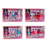 Лялька з нарядом, 28см, взуття, плаття, гребінець, 2 сумочки, в коробці, 51х33, 5х6см (36) №YF11005 CEFJ