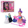 Лялька 10см,одяг,сумочка,аксесуари, в кор. 19х14,5х4,5см №МН-505А-2(180)