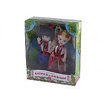 """Лялька """"Катюша і Василько"""" в коробці, 13 х4х14см, 6 видів (72) (144) (288) КІ №080109"""