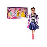 Лялька 27 см, одяг, аксесуари, в коробці, 90 х35х9см, 3 кольорова (12) №975-5