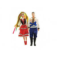 Лялька Оксанка та Іванко 080101 в кульку 4 види