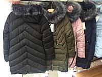 Стильная женская куртка зима на синтепоне оптом