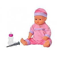 Лялька-пупс Малюк-здоровань на батарейці, плаче, аксесуари, в коробці 43х28х14см M1446U/R