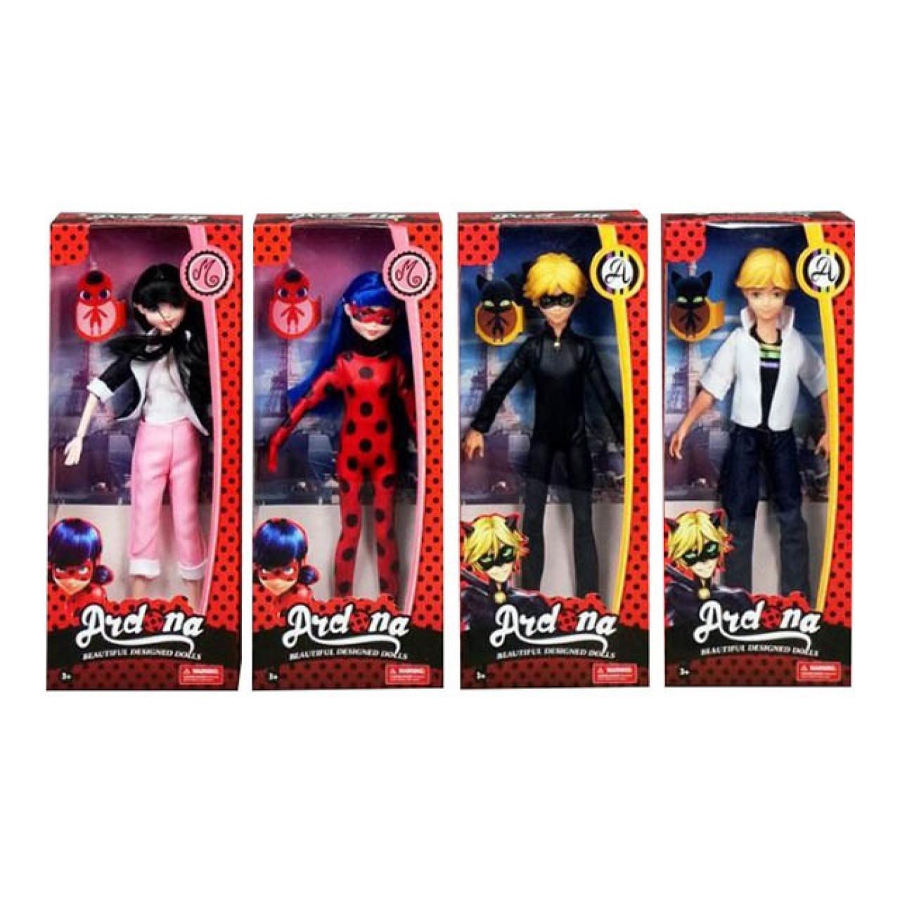 Лялька 27 см, на шарнірах, 4 види, коробці 32,5-14-6 см. (72) №DH2136
