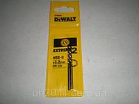 Сверло DeWALT по металлу 3.2х65мм