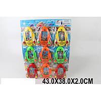 "Водная игра в колечки ""Ракета"" (9 шт. на планшетке), 4 цвета, 3686S9PC"