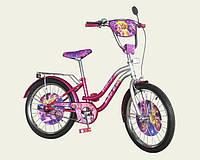 Детский двухколесный велосипед 171406, 14 дюймов, сиреневый