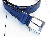 Брючний ремень кожаный 35 мм Италия