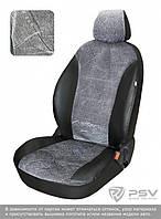 ЧЕХЛЫ  Chevrolet Aveo II (2012-н.в.) Флок серый