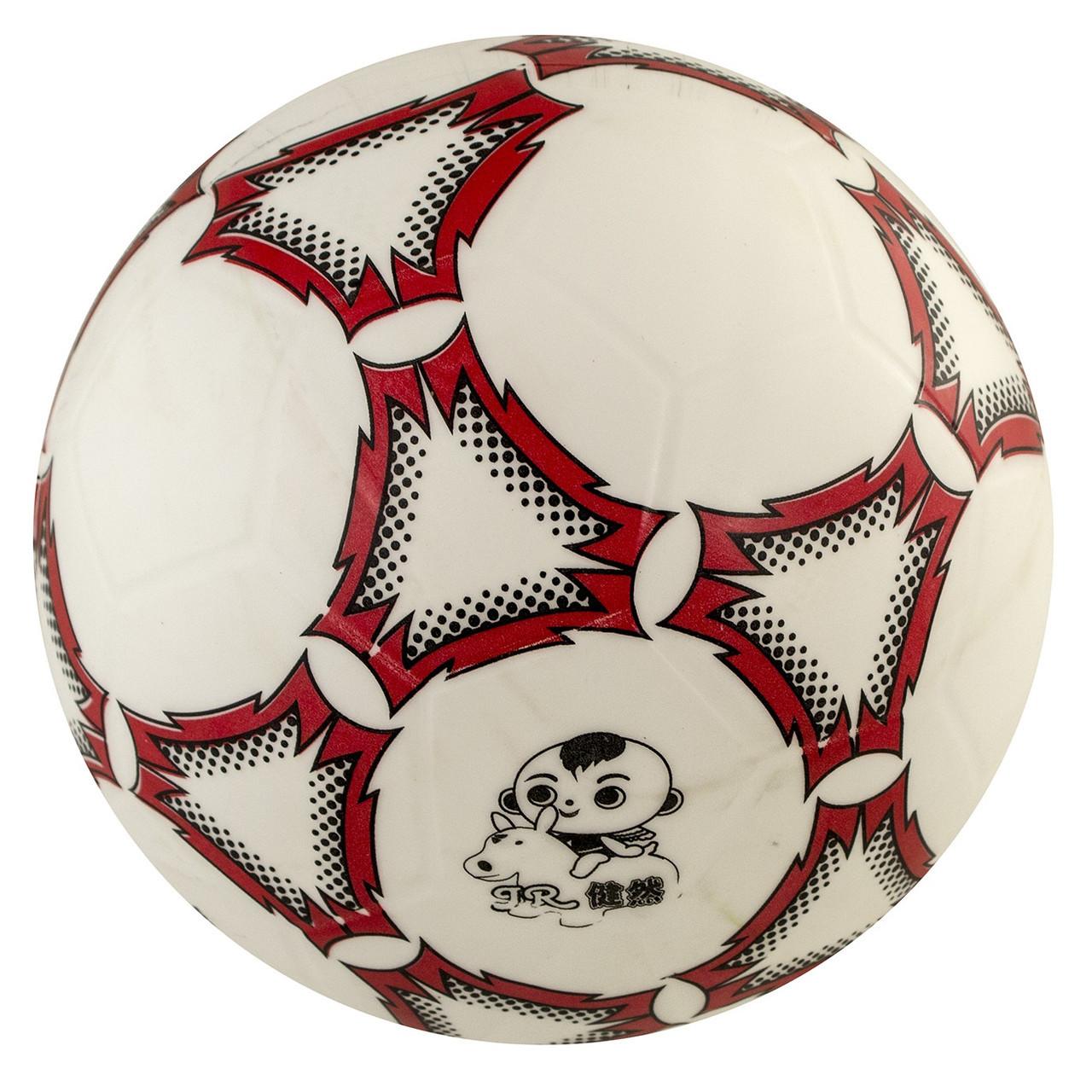 М'яч футбольний гумовий, 3 кольори, розмір 3 (100) КІ №RM1710,