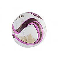 М'яч футбольний Ronex Zulu рожево-коричневий