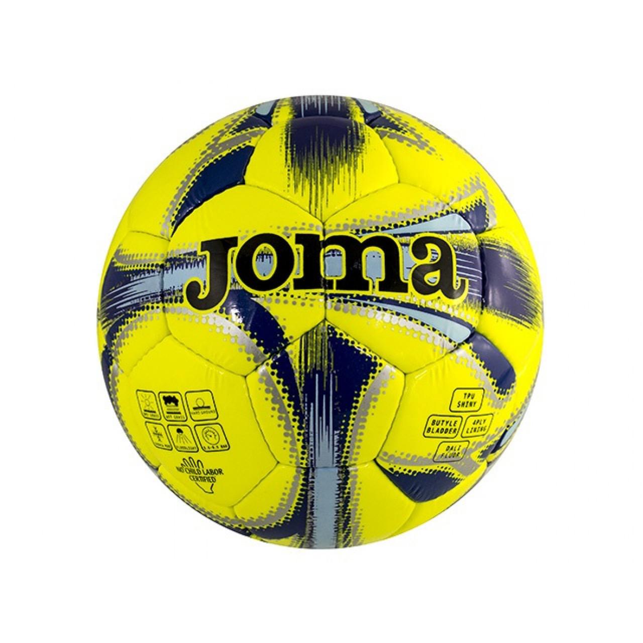 """М`яч футбол. """"Dali"""" №400191/2021 жовто-синій,розмір 4"""