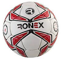 """М`яч футбол. """"Ronex"""" біл.-черв."""