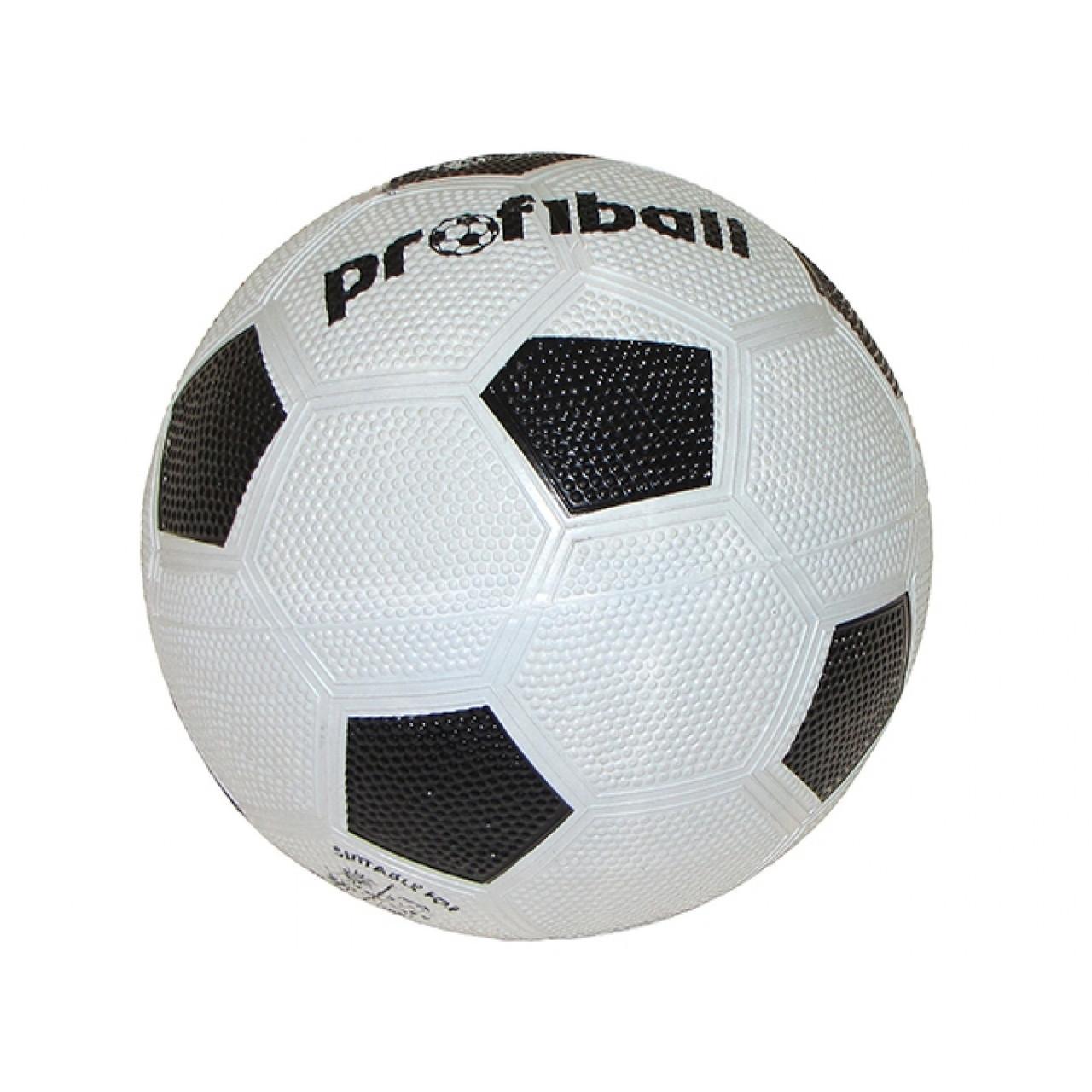 М'яч футбольний Official VA0008 розмір 4 290г Grain гумовий