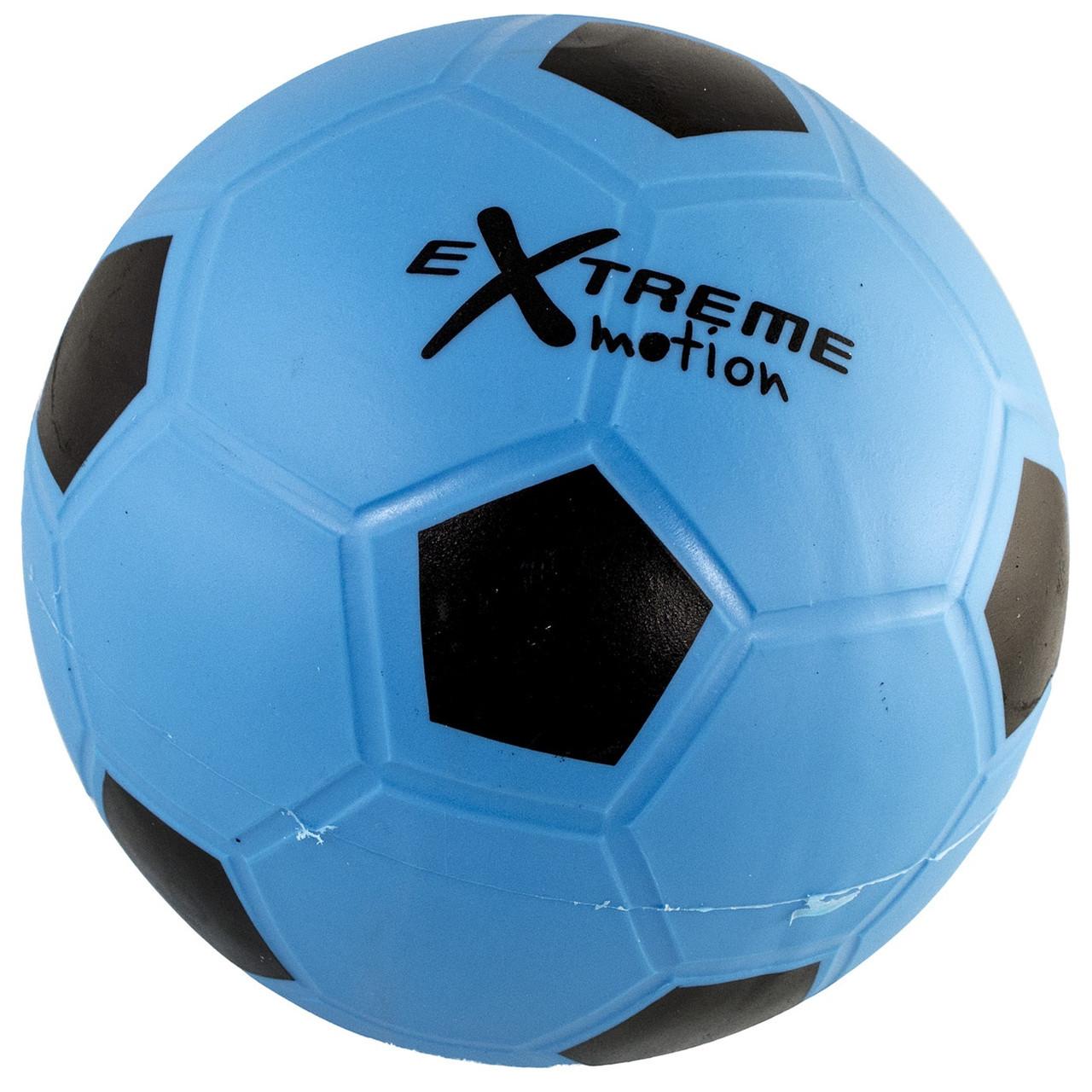 """М`яч футбол. гумовий №M1717 9"""" 200гр,5 кольорів(125)КІ"""