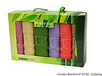 Набор кухонных полотенец Набор кухня Cestepe Bamboo 6*30x50см, 3566