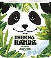 """Полотенца бумажные отрывные """"Снежная панда"""" 2 рулона, 110 листов, 2 слоя (Украина)"""
