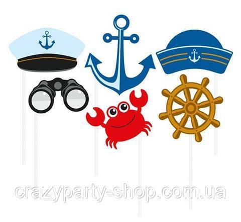 Набор для фотосессии party Фотобутафория Морская