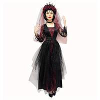 Костюм Готическая королева карнавальный женский на Хэллоуин