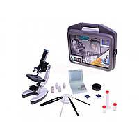 Мікроскоп в валізі з аксесуарами, 37х32х10см 80109