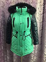 Зимнее пальто для девочки р36,38,40, фото 1