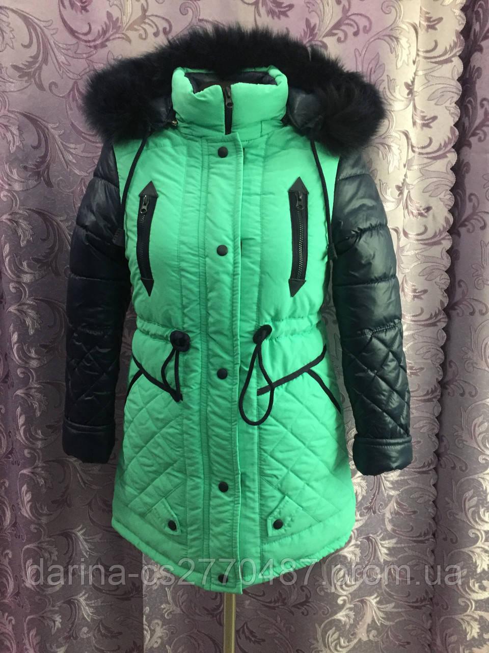 Зимнее пальто для девочки р36,38,40
