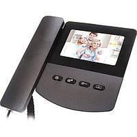Видеодомофон Dom D1B черный N30601463