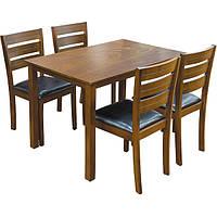 Набор столовый Тоскана гевея черный N80345722