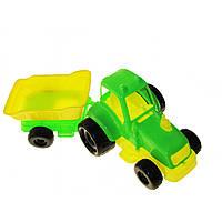 Трактор маленький із причепом Kinder Way 07-711