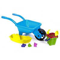 Тачка з човником і набором для піску Kinder Way 01-127