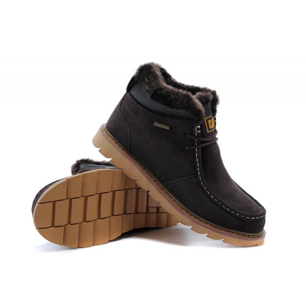 Зимние ботинки Caterpillar Winter Boots Dark Brown