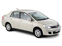 Авточехлы Nissan Tiida 2004-12 Седан Nika