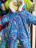 Детский зимний комбинезон трансформер Карапузик от 0 до 12 мес