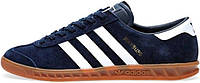 Мужские кроссовки Adidas Originals Hamburg Dark Blue, адидас