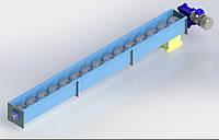 Шнековый транспортер (погрузчик) в квадрате, фото 1