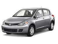 Авточехлы Nissan Tiida 2004-12 Nika