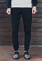 Мужские черные брюки карго Staff cargo black modern , фото 1