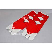 Перчатки нарядные детские P-04
