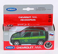"Машина Welly, ""NIVA CHEVROLET CONVERSVATION"", металлическая, 42379FC"