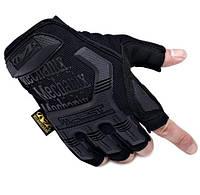 Перчатки тактические беспалые черные  M3_B_B