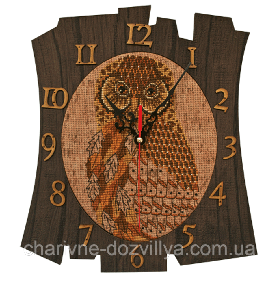 Набор для вышивания(часы) Время мудрости
