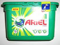 Капсулы для стирки Ariel  3в1 / 19шт. белое