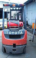 Вилочный погрузчик б/у. Toyota 02-8FGF15