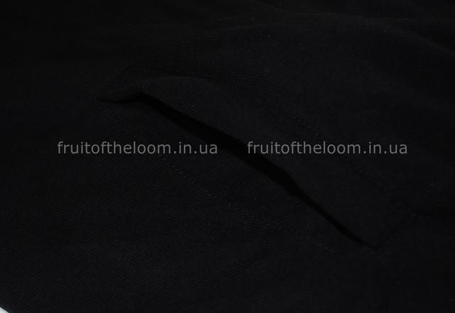 Чёрная мужская лёгкая кофта на замке