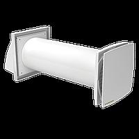 Стеновой проветриватель с рекуперацией тепла и энергии «Домовент Соло РА1-35-9 Р»