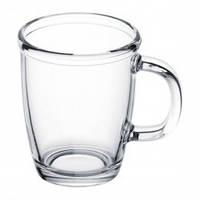 Чашка стеклянная прозрачная