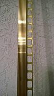 Уголок под плитку 7,8,9 мм латунный ЛПZR