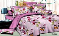 """Комплект постельного двоспального белья ТМ """"Ловец снов"""", Орхидея розовая (бязь)"""