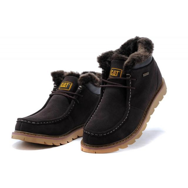 Caterpillar Winter Boots Dark Brown