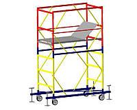 Базовый блок вышки-туры VIRASTAR КОМПАКТ-М 1,7x0,8 м (без стабилизаторов и колес)